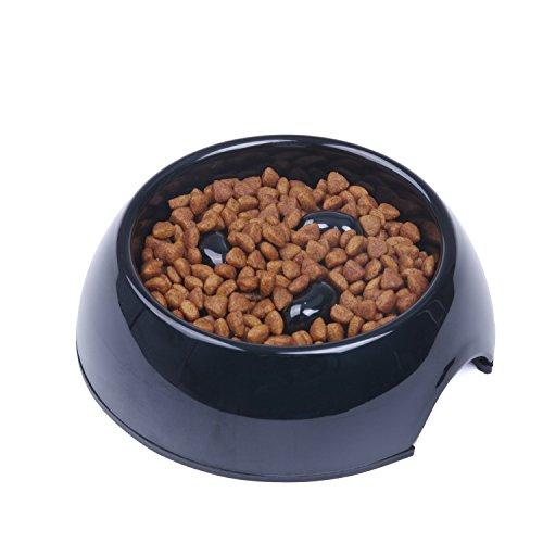 SuperDesign Langsame Fütterung Hundenapf, Anti Schling Interaktiver Hunde Napf, Anti Rutsch Langlebige ungiftige Futterschüssel für Keine Mittelgroßen Grosse Hunde und Katzen