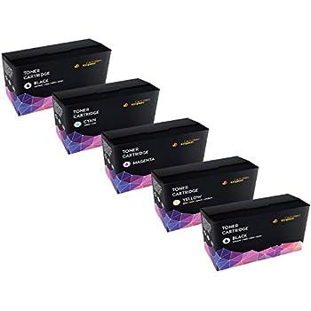 5 Compatibles Cartouches de Toner Laser pour Brother TN241 TN245 DCP-9015CDW DCP-9020CDW HL-3140CW HL-3142CW HL-3150CDW HL-3152CDW HL-3170CDW HL-3172CDW MFC-9130CW MFC-9140CDN MFC-9330CDW MFC-9340CDW
