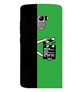PrintDhaba Film D-4210 Back Case Cover for LENOVO K4 NOTE A7010a48 (Multi-Coloured)