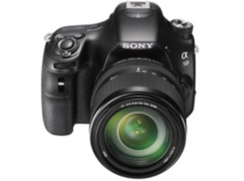 Sony Alpha A58Y 20.1MP Digital SLR Camera with 18-55 & 55-200mm Lens (SLT-A58Y) and Bag
