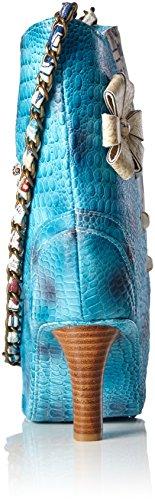 Laura Vita 2016-20, sac bandoulière Blau (Bleu)