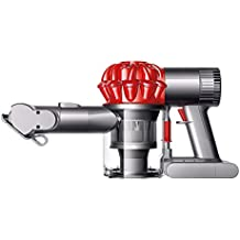 Dyson V6 Car & Boat Extra - Aspiradora de mano con 2 modos de aspiración, 100 W, color rojo