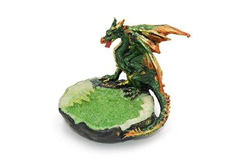 Verde místicas Dragon figura en piscina nuevo en caja