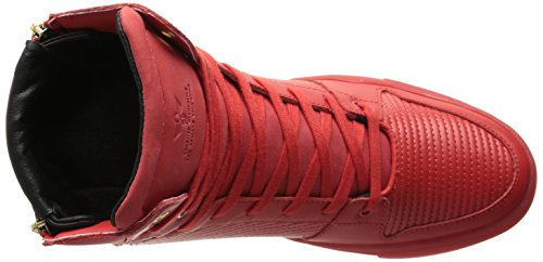 Creative Recreation - Adonis, Sneaker alte Uomo Rosso (Red (Red Ripple))