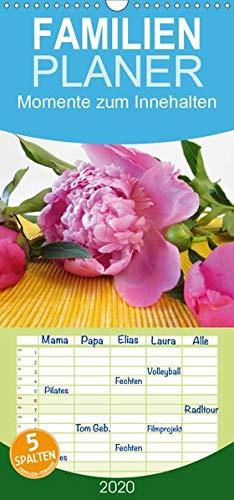 Momente Aromatherapie (Momente zum Innehalten - Familienplaner hoch (Wandkalender 2020 , 21 cm x 45 cm, hoch): Ein kleines Wellness-Programm mit duftenden Blüten für zu ... 14 Seiten ) (CALVENDO Gesundheit))