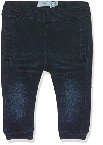 NAME IT Baby - Mädchen NITABON REG/R DNM PANT MZNB GER Jeans,,per pack Blau (Dark Blue Denim Dark Blue Denim),68
