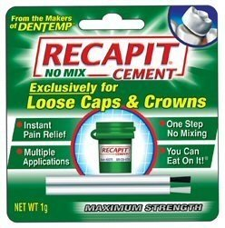 Recapit Repair for loose caps 8+repairs