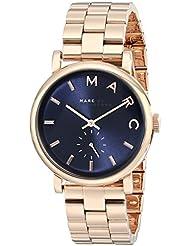 Marc Jacobs Damen-Armbanduhr Analog Quarz Edelstahl MBM3330