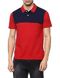 Ajile by Pantaloons Men's Poly Cotton T-Shirt