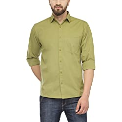 Jainish Men's Cotton Formal Shirt (Available in various Colour Options)