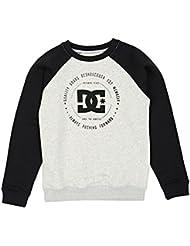 DC Sweatshirts - DC Rebuilt 2 Crew Sweatshirt - Light Heather Grey