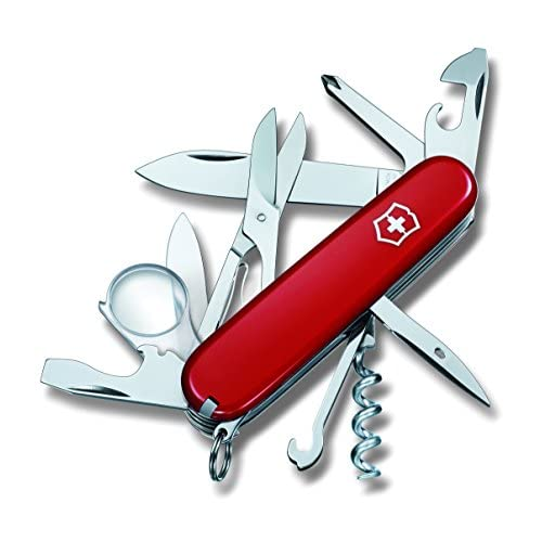 412EOHTL7YL. SS500  - Victorinox Unisex Explorer Knife Blade, Red, Medium