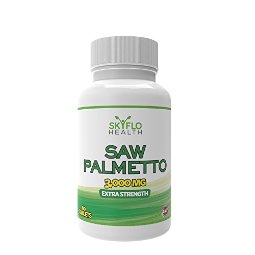 Saw Palmetto Tablets - 3000mg - Urinary Tract and Prostate Support. 60 Tablets. Test