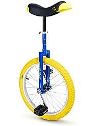 """Einrad Qu-Ax Luxus Monocycle 406 mm (20"""") Bleu"""