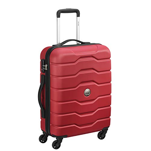 Delsey Polycarbonate Hard Cabin Luggage  1388081004_Red