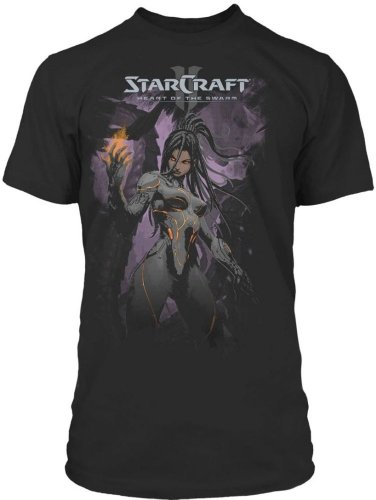 Preisvergleich Produktbild StarCraft 2: Heart of the Swarm - Consume Herren T-Shirt - Schwarz - Größe Small