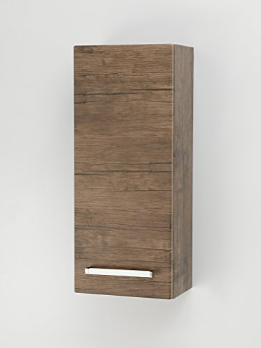 Quentis Hängeschrank 30, eine Tür, Ausführung Holzdekor antik