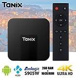 #10: SreeTeK TM Tanix TX3 Mini Android 7.1 4K Android TV Box 2G/16G Amlogic S905W UHD 4K JIO TV Support Set Top Box X96 Mini TX3 Mini Android TV Box 2GB 16GB S95 (2GB 16GB)