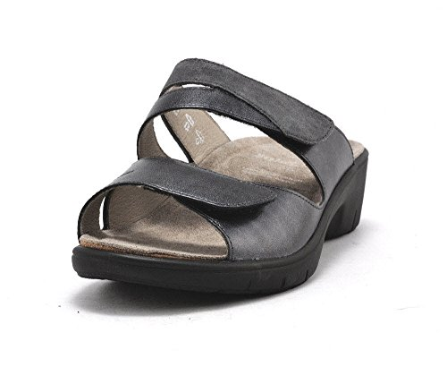 Solidus Heiko - Zapatos de cordones para hombre, color gris, talla 7