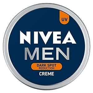 NIVEA Men Crème, Dark Spot Reduction, Non Greasy Moisturizer, Cream with UV Protect, 75 ml