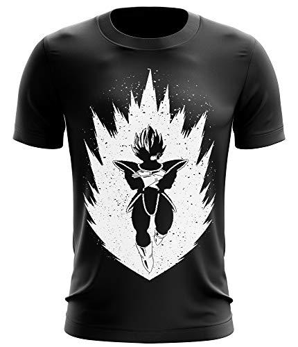 371b083e6e2ae Stylotex Fitness T-Shirt Herren Sport Shirt Saiyan Gym Tshirts für  Performance beim Training