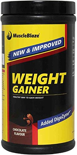 MuscleBlaze Weight Gainer (Chocolate, 0.5 kg / 1.1 lb)  available at amazon for Rs.499