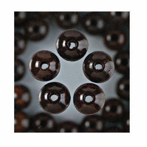 EFCO-Perline in legno 22colori, ø6mm, alesaggio 2,0mm 1VE = 125ST. marrone