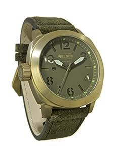 Welder - K51-9101 - Montre Homme - Quartz Analogique - Bracelet Cuir Vert
