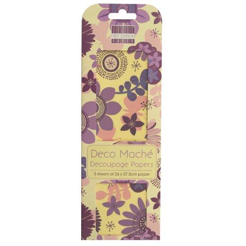 first-edition-fedec033-papel-mache-para-manualidades-diseno-floral