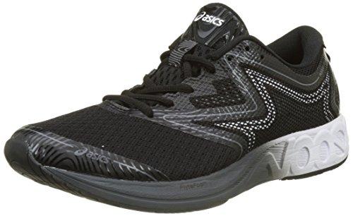Asics T722N9001, Zapatillas de Running Para Hombre, Negro (Black/White/Carbon), 42.5 EU