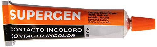 Tesa Tape 62601-00000-01 TESA 62601-00000-01-Supergen Transparente Contacto Incoloro-Tubo 40 ml, 40ml