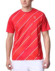 K-Swiss Lines Crew Tee-shirt tennis homme Formula one/blanc S