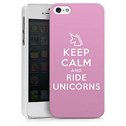 Apple iPhone X Silikon Hülle Case Schutzhülle Einhorn Unicorn Sprüche Geschenk Hard Case weiß