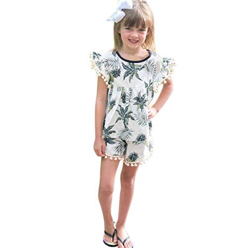 305d0753bd0 7. erthome Sommer scherzt Baby-Jungen-Frucht-Druck-Quasten-T-Shirt  Blumenhosen-Ausrüstungs-Kleidung (0-6 Monate