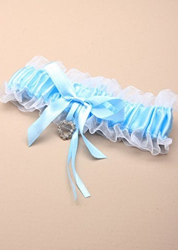 Magic Box Hen Party Womens Blue Bride Garter