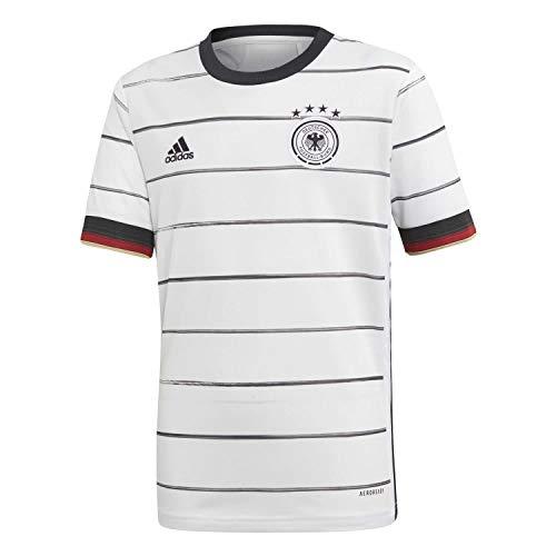 adidas Jungen DFB H JSY Y T-shirt, weiß, 13-14 Years (XL)