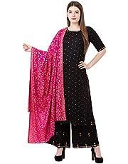 Sanganeri Kurti Women's Rayon Salwar Suit