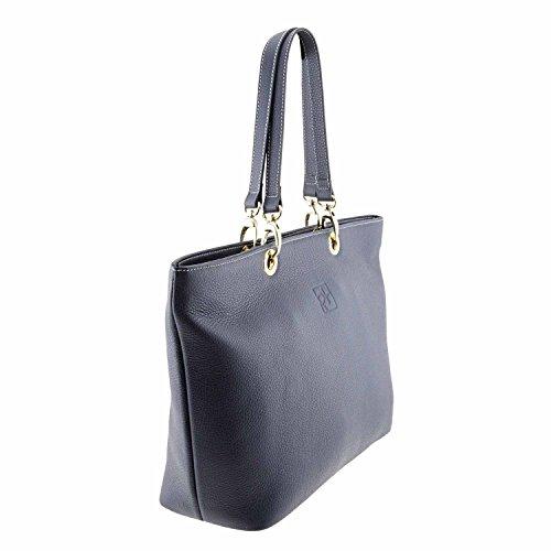 cestino in pelle Maxi borsa stile MARINO