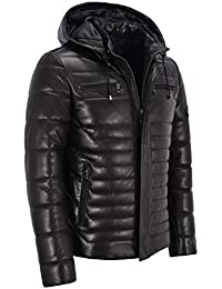 Veste simili cuir homme pull and bear
