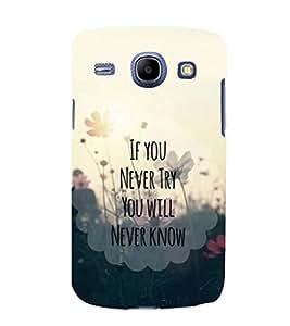 printtech Cool Quotes Life Back Case Cover for Samsung Galaxy E7 / Samsung Galaxy E7 E700F
