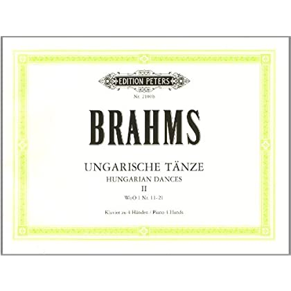 Danses Hongroises Volume 2 (Nos11-21) - Piano 4Ms