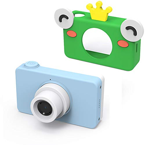MBEN Kinder-Digitalkamera, 2.0 HD-Farbbildschirm, 8MP Video-Digitalkamera-Kamera Ultraleicht tragbare Geburtstagsgeschenk für Kinder, USB OTG-Handyübertragung,Blue