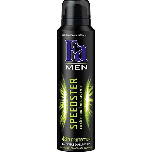 Fa - Speedster Men Deo 150ml - Packung mit 4 -