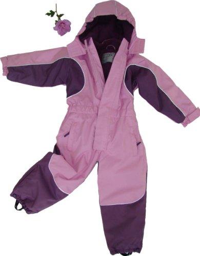 Maylynn Kuscheliger Schneeanzug Skianzug rosa atmungsaktiv und wasserdicht 5000mm, Größe:134