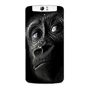 Delighted King Kong Blue Eyes Back Case Cover for Oppo N1