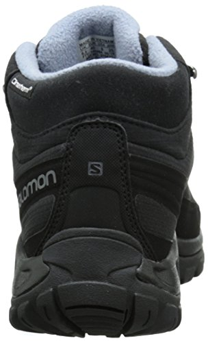 Salomon Shelter Cs Wp, Bottines de randonnée femme Noir - Schwarz (Black/Black/Stone  Blue)