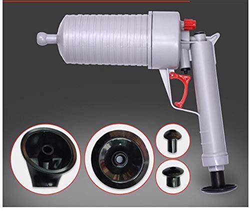 wcwwfn Toilettenkolben,Kolbenluftdruck - Abflusspumpenrohr Baggerwerkzeug - Pneumatisches Abflussrohr - Geeignet Für Badewannen-Hochdruck-Abflussöffner