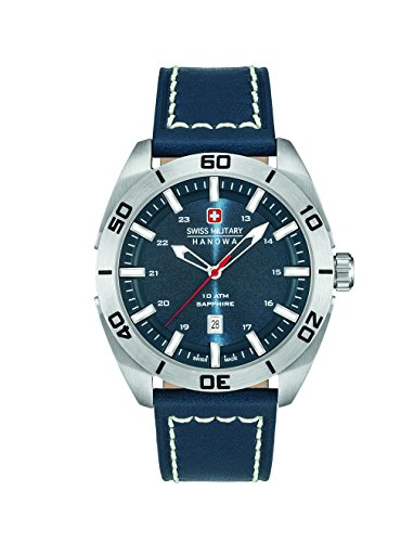 Swiss Military Herren-Armbanduhr Analog Quarz 6-4282.04.003