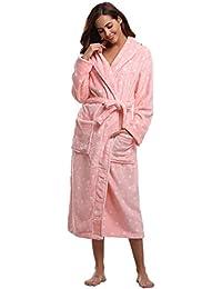 828cd4677c Amazon.co.uk  Pink - Bathrobes   Nightwear  Clothing