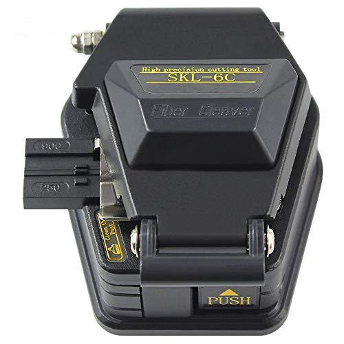 DAXGD Fiber Cleaver SKL-6C Kabel Schneidmesser FTTT Fiber Optic Messer Werkzeuge Cutter Hochpräzisions Faser Spalter 16 Oberflächenklinge -